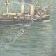 DETAILS 06 | Italian army - Warship - Cruiser Piemonte - XIXth Century
