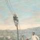 DÉTAILS 01 | Implantation d'une ligne télégraphique à Ghinda - Érythrée - 1896