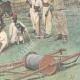 DÉTAILS 04 | Implantation d'une ligne télégraphique à Ghinda - Érythrée - 1896