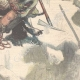 DÉTAILS 04 | Un mort dans les Alpes - Aiguille de la Grande Sassière à Valgrisenche - Italie - 1896