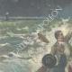 DÉTAILS 01 | Naufrage d'un bateau de pêche à Livourne - Toscane - Italie - 1896