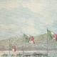 DETAILS 01 | Launching of the Italian cruiser Carlo Alberto at La Spezia - Liguria - Italy - 1896