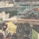 DETAILS 04 | Launching of the Italian cruiser Carlo Alberto at La Spezia - Liguria - Italy - 1896