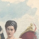 DETAILS 03 | Portrait of the Prince of Naples and the Princess Elena of Montenegro