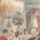 DÉTAILS 01   Mariage du Prince de Naples et la Princesse Elena - Repas au Quirinal - Rome - 1896