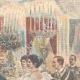 DÉTAILS 03   Mariage du Prince de Naples et la Princesse Elena - Repas au Quirinal - Rome - 1896