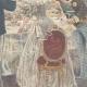 DÉTAILS 04   Mariage du Prince de Naples et la Princesse Elena - Repas au Quirinal - Rome - 1896