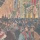 DÉTAILS 04 | Mariage du Prince de Naples et la Princesse Elena - Illuminations à Rome - 1896