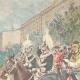 DÉTAILS 02 | Mariage du Prince de Naples et la Princesse Elena - Revue militaire - Rome - 1896