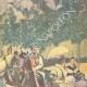 DÉTAILS 03 | Mariage du Prince de Naples et la Princesse Elena - Revue militaire - Rome - 1896