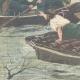 DÉTAILS 02   Inondations dans la région de Ro Ferrarese - Ferrare - Italie - 1896