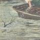DÉTAILS 05   Inondations dans la région de Ro Ferrarese - Ferrare - Italie - 1896