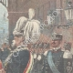 DETAILS 03 | Arrival of Alexander I of Serbia at Rome - Italy - 1896