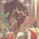 DÉTAILS 01 | Guerre italo-éthiopienne - Le major Nerazzini signe le traité de paix avec Menelik II - Addis Abeba - 1896