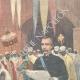 DÉTAILS 03 | Guerre italo-éthiopienne - Le major Nerazzini signe le traité de paix avec Menelik II - Addis Abeba - 1896