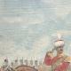 DETAILS 01   Alexander I of Serbia and Umberto I of Italy on via Nomentana - Rome - 1896
