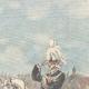 DETAILS 03   Alexander I of Serbia and Umberto I of Italy on via Nomentana - Rome - 1896