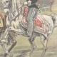 DETAILS 04   Alexander I of Serbia and Umberto I of Italy on via Nomentana - Rome - 1896