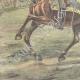 DETAILS 05   Alexander I of Serbia and Umberto I of Italy on via Nomentana - Rome - 1896