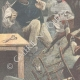 DÉTAILS 02 | Chasse au cerf dans un magasin à Pitstone - Angleterre - 1896