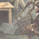 DÉTAILS 05 | Chasse au cerf dans un magasin à Pitstone - Angleterre - 1896