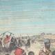 DÉTAILS 01 | Guerre italo-éthiopienne - Retour des prisonniers d'Afrique - Ethiopie - 1896
