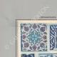 DETAILS 01   Oriental ceramics - Motifs - Faience -  Asia Minor - XVIth Century - XVIIth Century