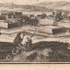 DÉTAILS 06   Vue de la ville de Jametz au XVIIème siècle - Meuse (France)