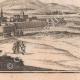 DÉTAILS 07   Vue de la ville de Jametz au XVIIème siècle - Meuse (France)