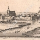 DETAILS 07 | View of the city of Guise in the 17th century - Aisne (France)