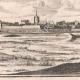 DÉTAILS 07   Vue de la ville de Marsal au XVIIème siècle - Moselle  (France)