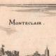 DÉTAILS 03 | Vue de la ville de Monteclair au XVIIème siècle (France)