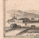 DÉTAILS 05 | Vue de la ville de Monteclair au XVIIème siècle (France)