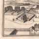 DETAILS 06 | View of the city of Boussac in the 17th century - Creuse (France)