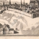 DETAILS 07 | View of the city of Boussac in the 17th century - Creuse (France)
