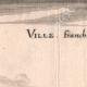 DÉTAILS 03 | Vue de la ville de Villefranche au XVIIème siècle - Meuse (France)