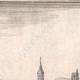 DÉTAILS 02 | Vue de la ville de Évreux au XVIIème siècle - Eure (France)
