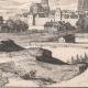 DÉTAILS 07 | Vue de la ville de Évreux au XVIIème siècle - Eure (France)