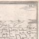 DETALLES 05 | Vista de la ciudad de Lisieux en el siglo XVII - Calvados (Francia)