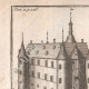 DETAILS 01 | View of the Bornival castle in the 17th century - Wallonia (Belgium)