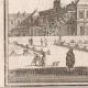 DÉTAILS 03   Vue de la ville de Paris au XVIIème siècle - Hotel de Fontaine - Jardin - Statue (France)