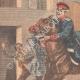 DÉTAILS 02 | Un garçon arrête un cheval emballé à Auboué - France - 1901