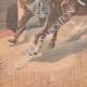 DÉTAILS 05 | Un garçon arrête un cheval emballé à Auboué - France - 1901