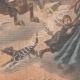 DÉTAILS 06 | Un garçon arrête un cheval emballé à Auboué - France - 1901