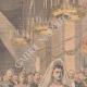 DÉTAILS 01 | Mariage de Wilhelmine, reine des Pays-Bas et Henri de Mecklembourg-Schwerin - 1901