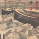 DETAILS 04 | The port of New York in the ice - 1901