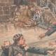 DÉTAILS 02 | Enfants sauvés de la noyade par deux soldats près de Dijon - France - 1901
