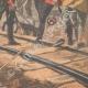 DÉTAILS 06 | Expédition de Chine - Incident russo-anglais - Chemin de fer - 1901