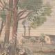 DÉTAILS 01 | Chasse aux ours dans les rues de Clichy-la-Garenne - Ile de France - 1901