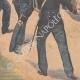DÉTAILS 05 | Chasse aux ours dans les rues de Clichy-la-Garenne - Ile de France - 1901